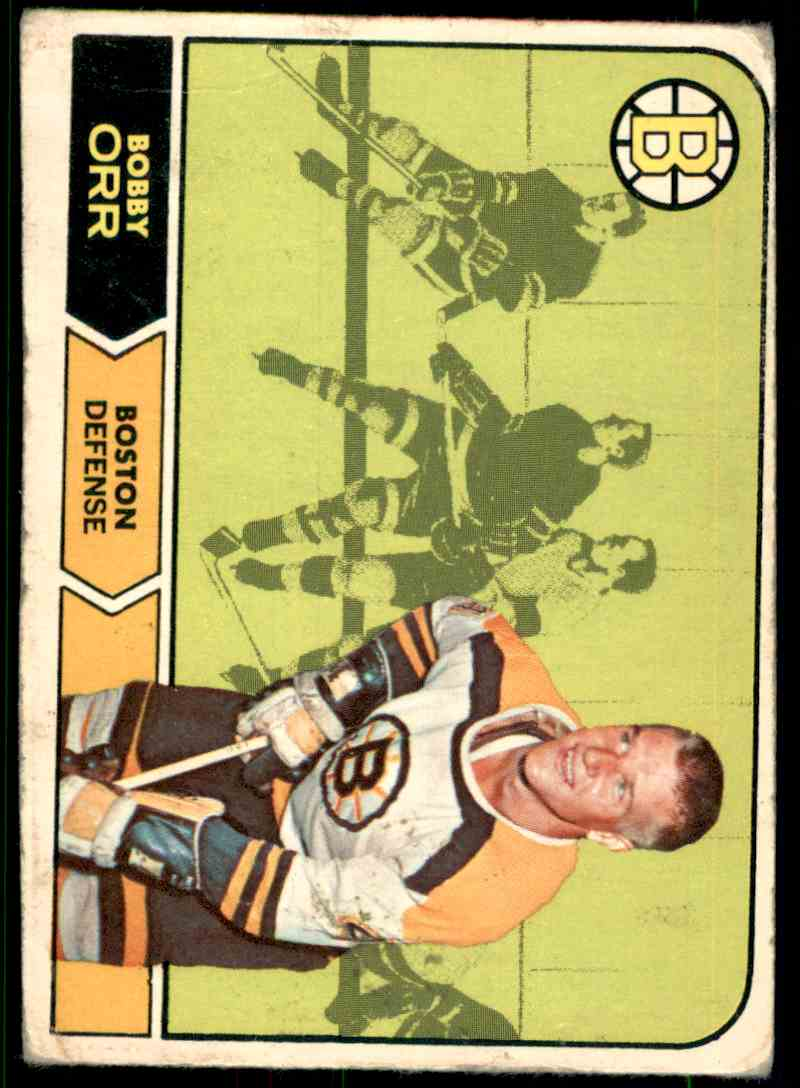 1967-68 O-Pee-Chee Bobby Orr #2 card front image