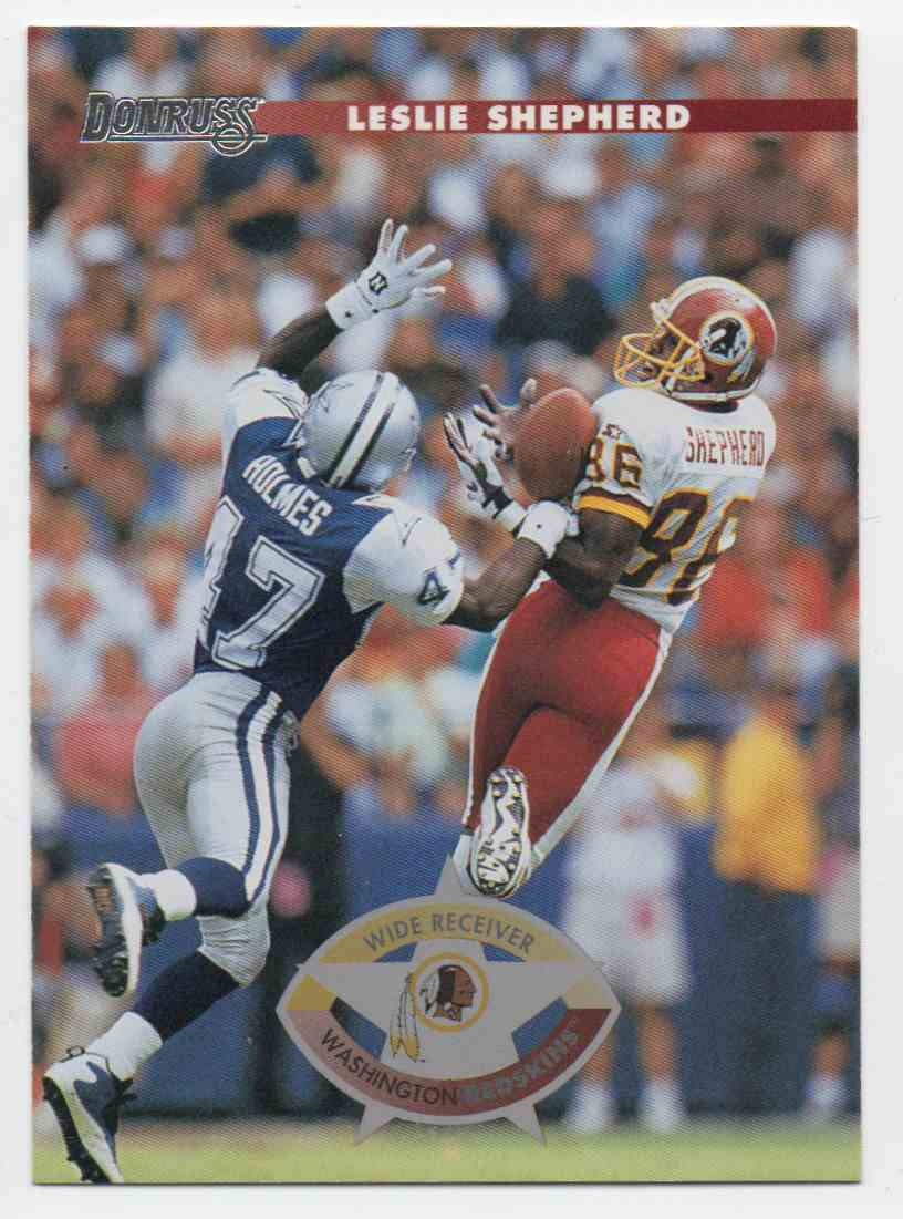 1996 Donruss Leslie Shepherd #198 card front image