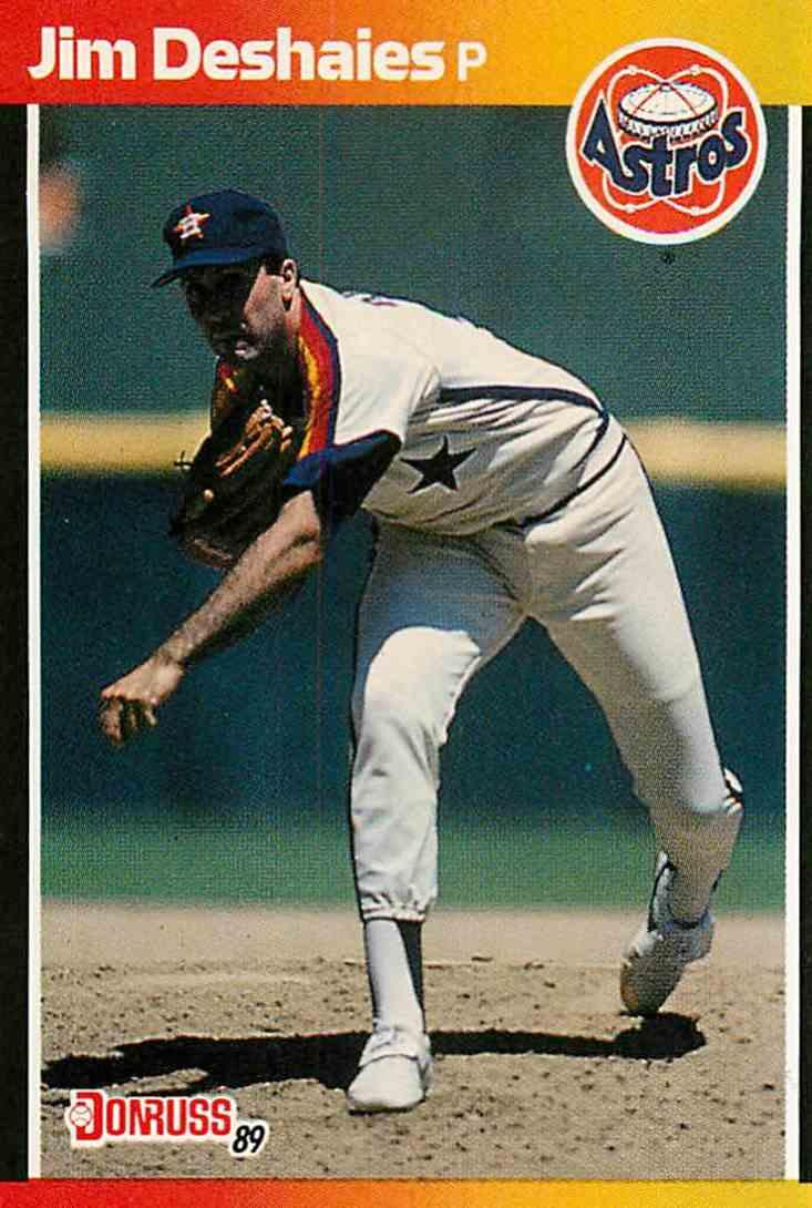 1989 Donruss Jim Deshaies #241 card front image