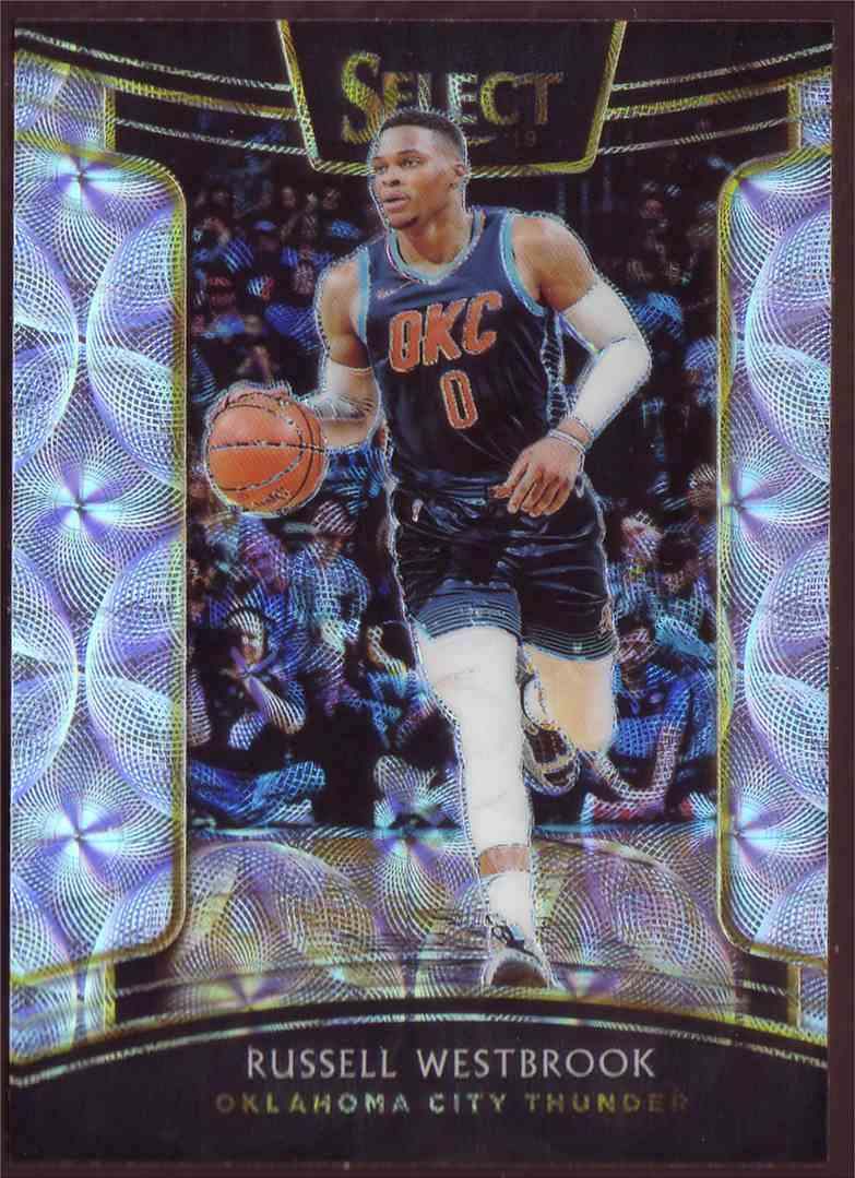2018-19 Panini Select Base Concourse Scope Russell Westbrook #91 card front image
