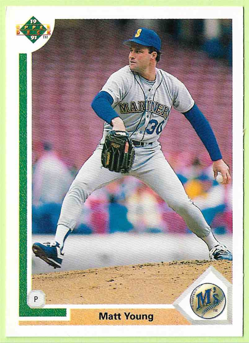 1991 Upper Deck 1991 Upper Deck Matt Young 591