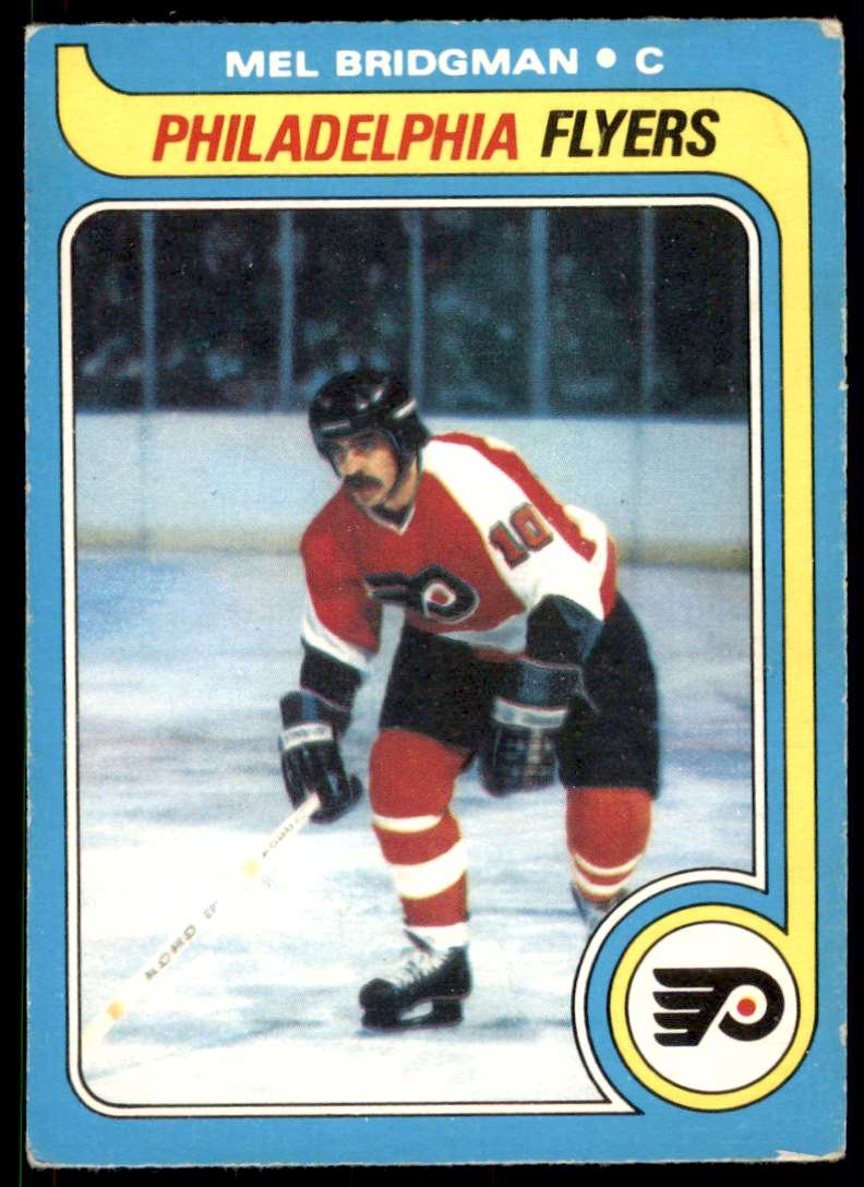 1979-80 O-Pee-Chee Mel Bridgman #201 card front image