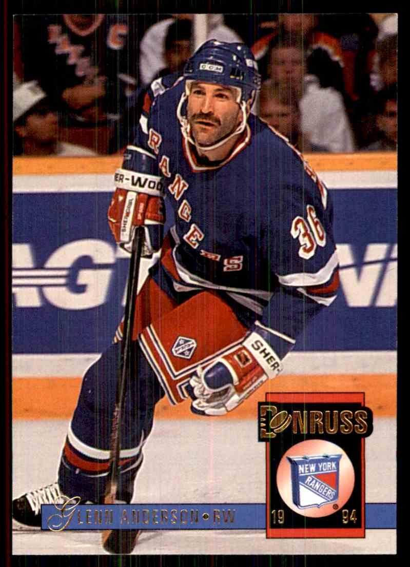1993-94 Donruss Glenn Anderson #460 card front image