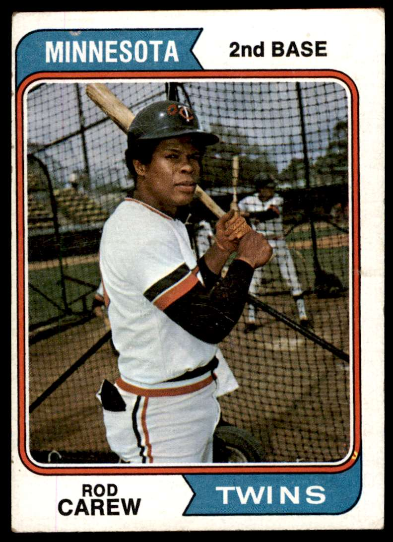 1974 Topps Rd Carew #50 card front image