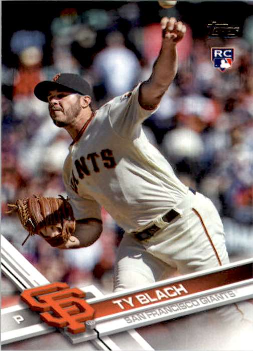 2017 Topps Series 2 Ty Blach #625 card front image
