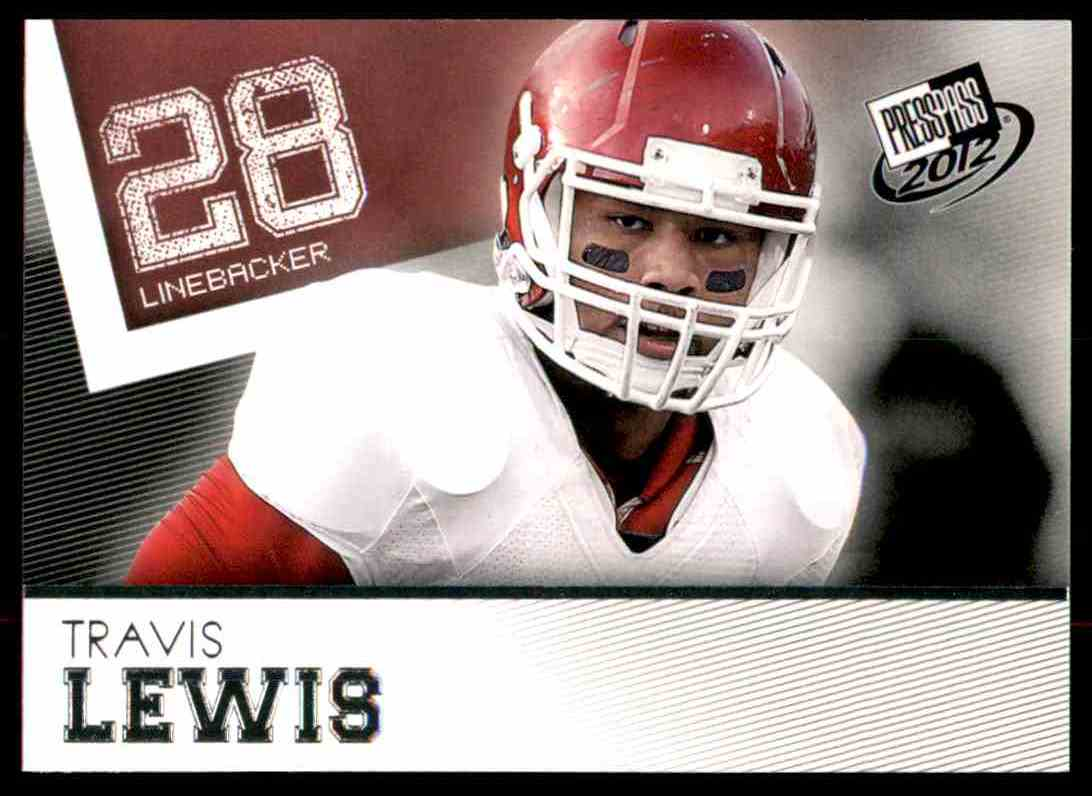 2012 Press Pass Travis Lewis #28 card front image