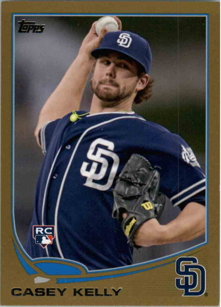 2013 Topps Casey Kelly #111 card front image