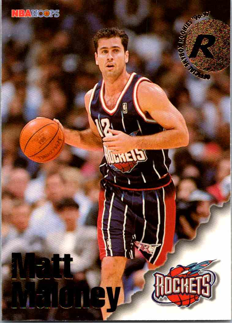 1997-98 NBA Hoops Matt Maloney #299 card front image