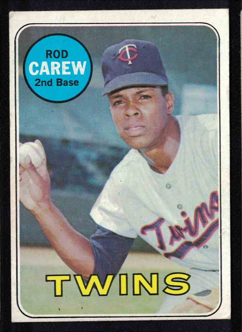 1969 Topps Rod Carew EX #510 card front image