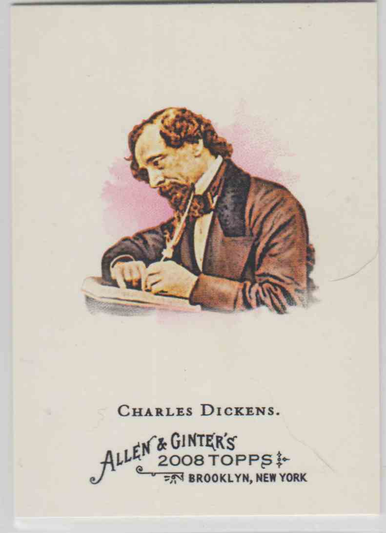 2008 Topps Allen And Ginter Charles Dickens #219 card front image