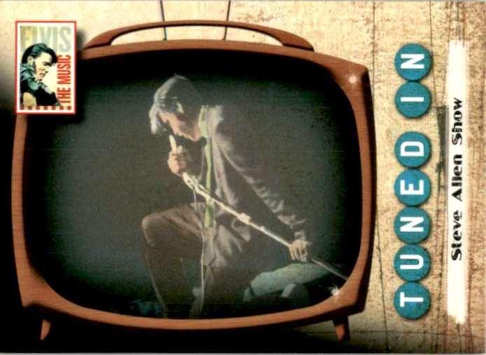 2007 Elvis The Music Steve Allen Show #61 card front image