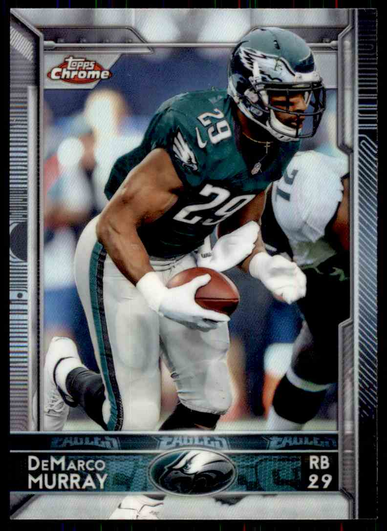 2015 Topps Chrome Refractor DeMarco Murray #23 card front image