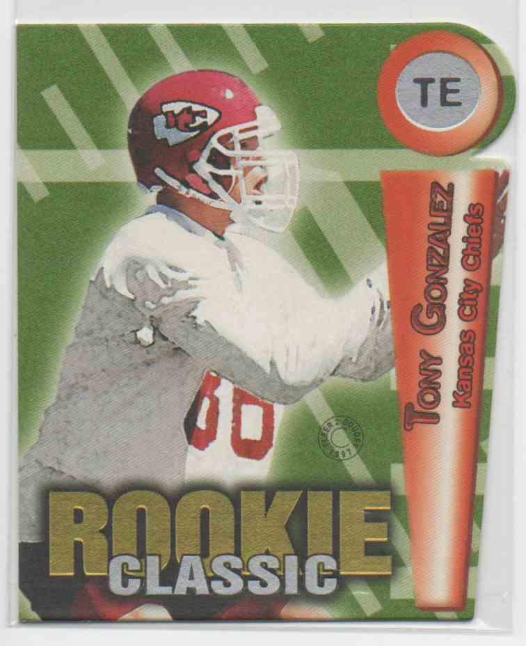1997 Fleer Goudey Rookie Classic Tony Gonzalez #9 card front image