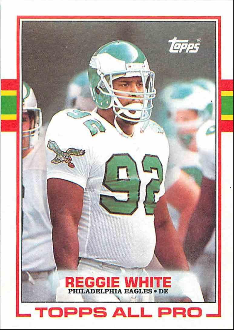 ddee2fae610 1989 Topps Reggie White  108 card front image