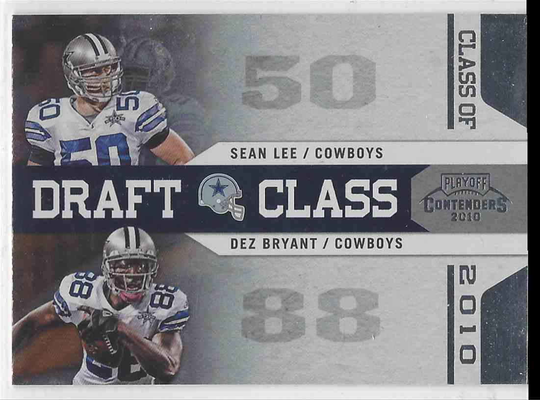 2010 Playoff Contenders Draft Class Silver Dez Bryant Sean