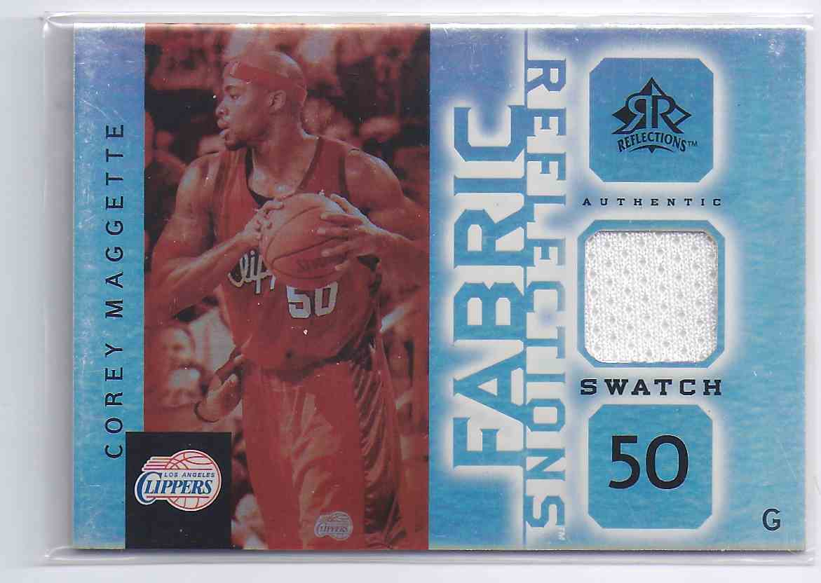 2005-06 Reflections Fabrics Corey Maggette #CM card front image