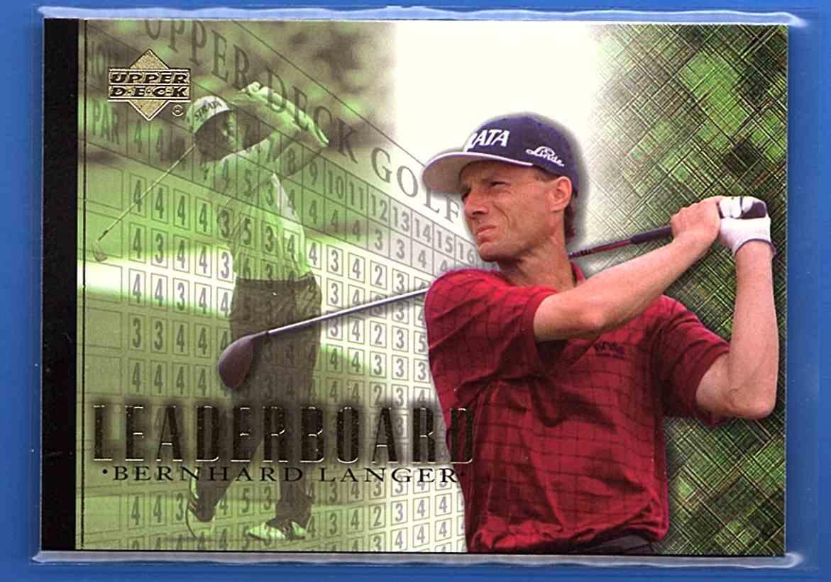 2001 Upper Deck Bernhard Langer Lb #105 card front image