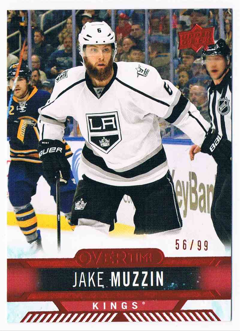 2017-18 Upper Deck Overtime Red Jake Muzzin #29 card front image