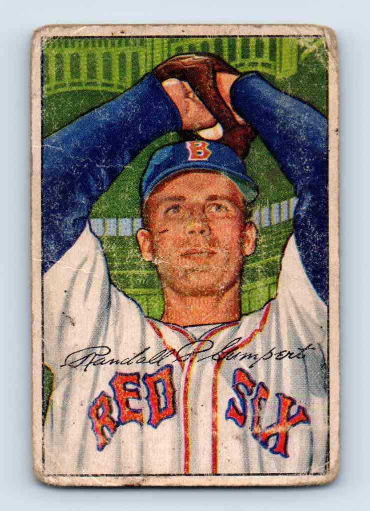1952 Bowman Randy Gumpert #106 card front image