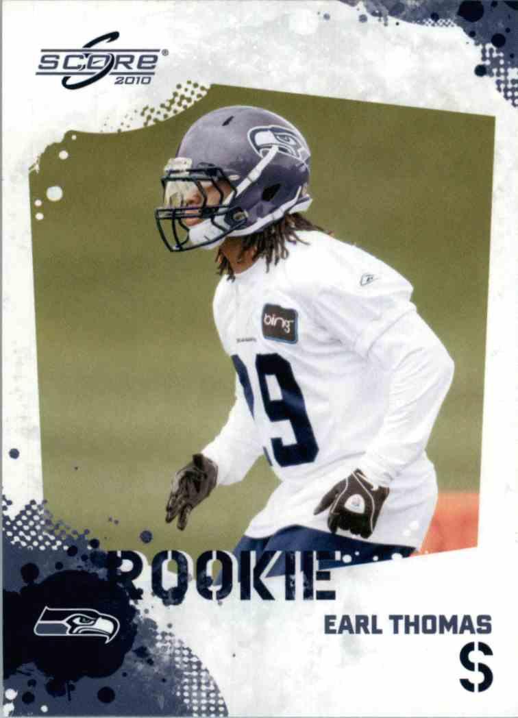 2010 Score Earl Thomas #337 card front image