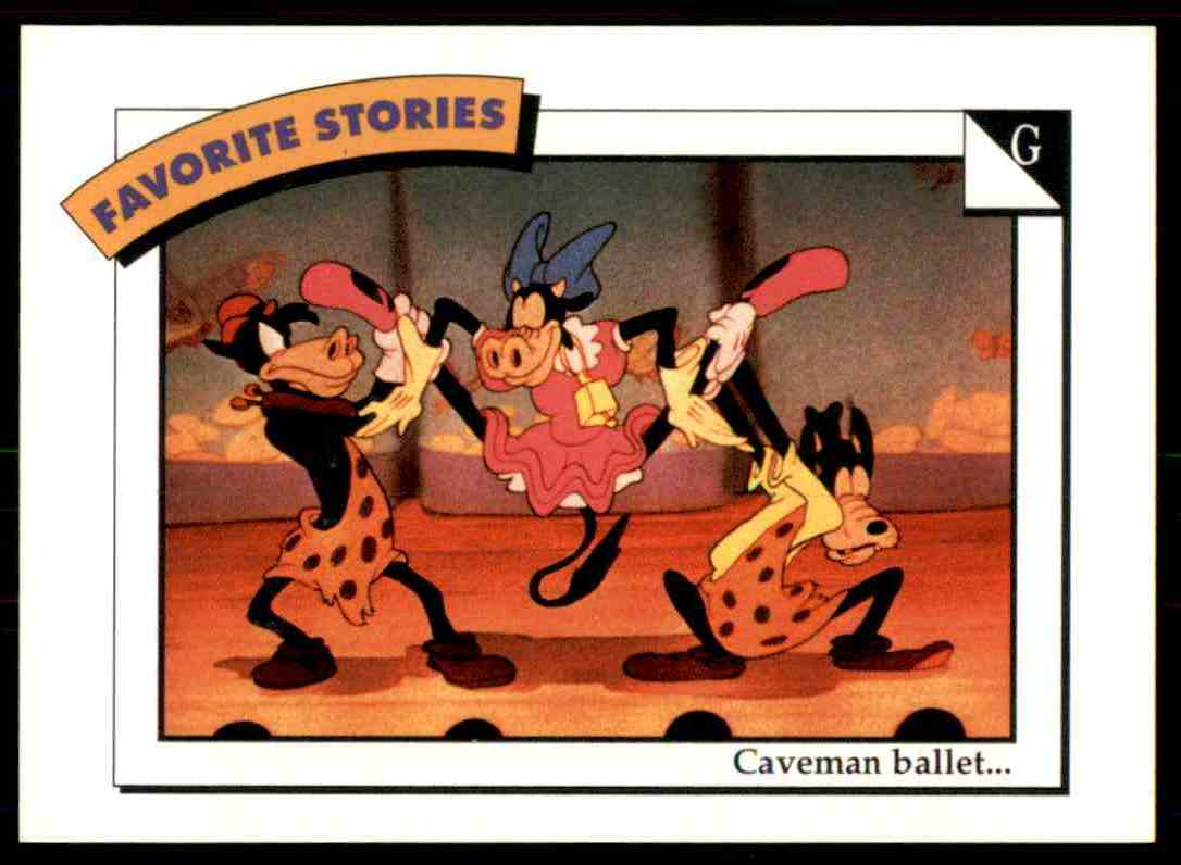 1991 Disney Series One Caveman Ballet #37 card front image