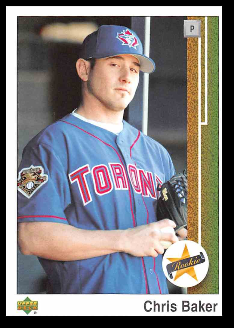 2002 Upper Deck Authentics Chris Baker #173 card front image