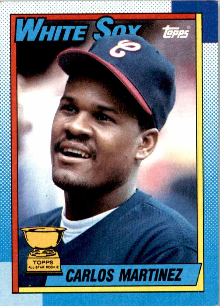 1990 Topps All Star Rookie Carlos Martinez 461 On Kronozio