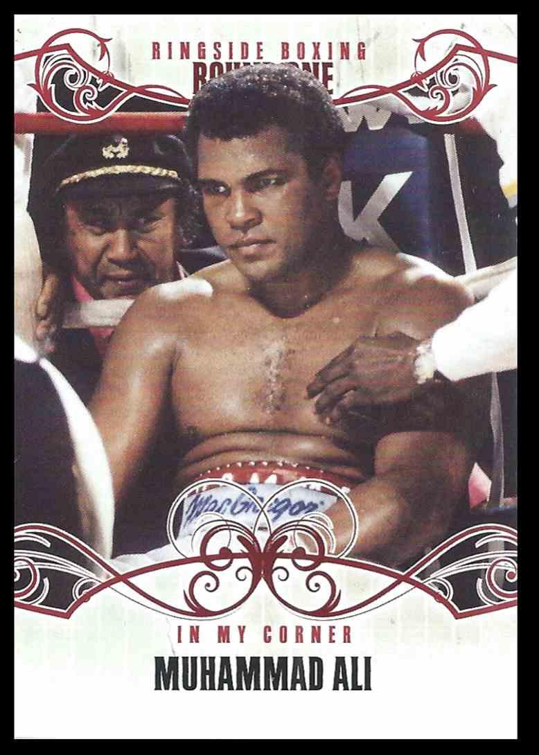 2010 Sport Kings Ringside Boxing Muhammad Ali #97 card front image