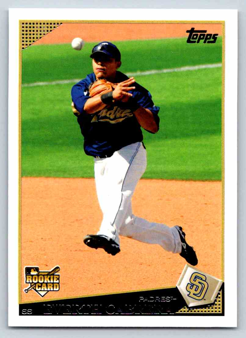 2009 Topps Everth Cabera #383 card front image