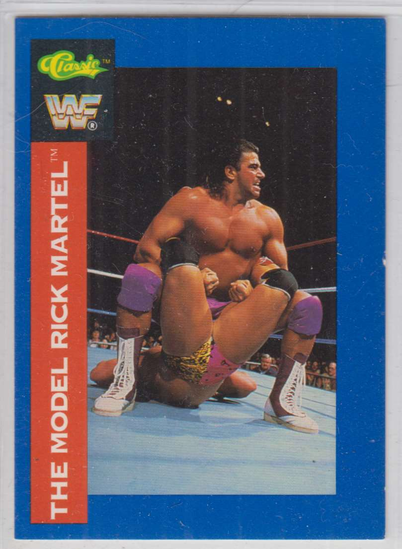 1991 Classic WWF Superstars The Model Ricky Martel #41 card front image