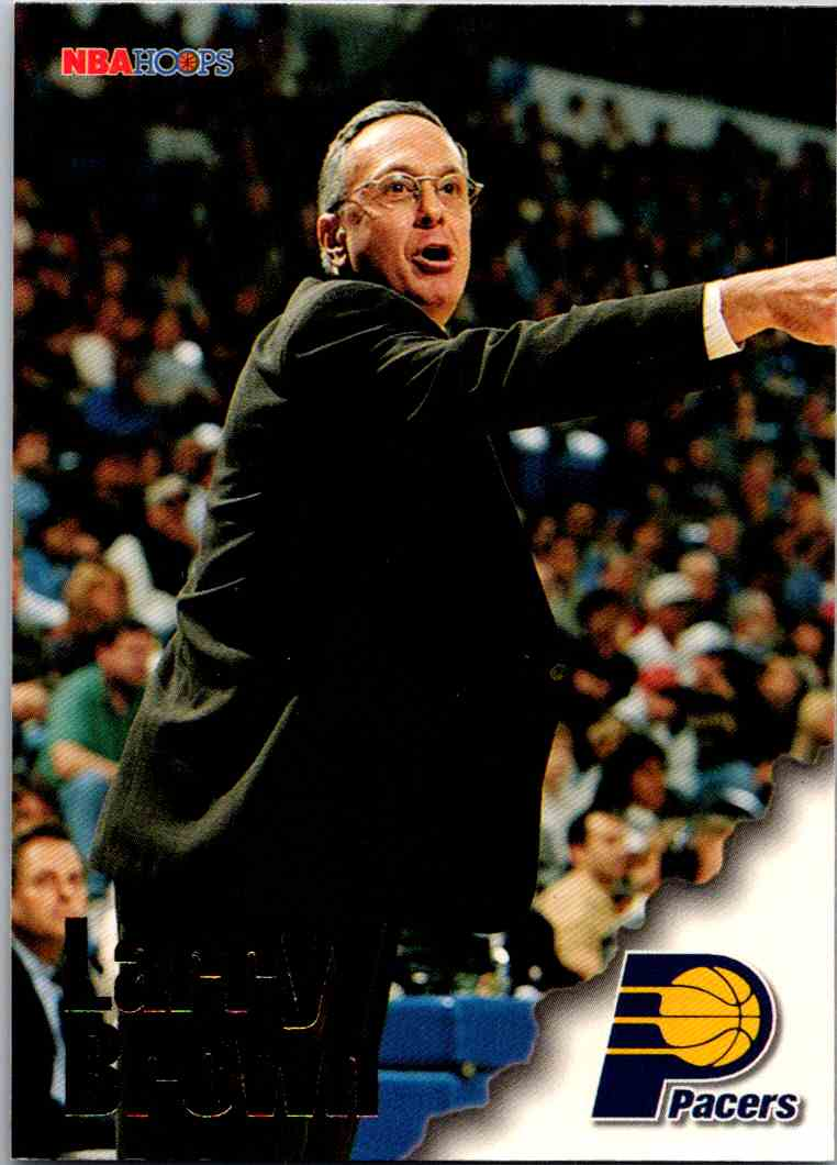 1997-98 NBA Hoops Larry Brown #259 card front image