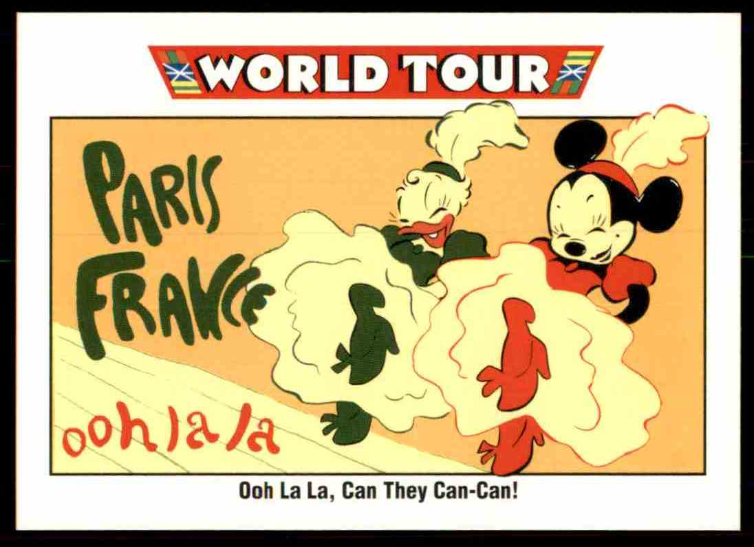 1991 Disney Series One Ooh La La, Can The Can-Can #179 card front image