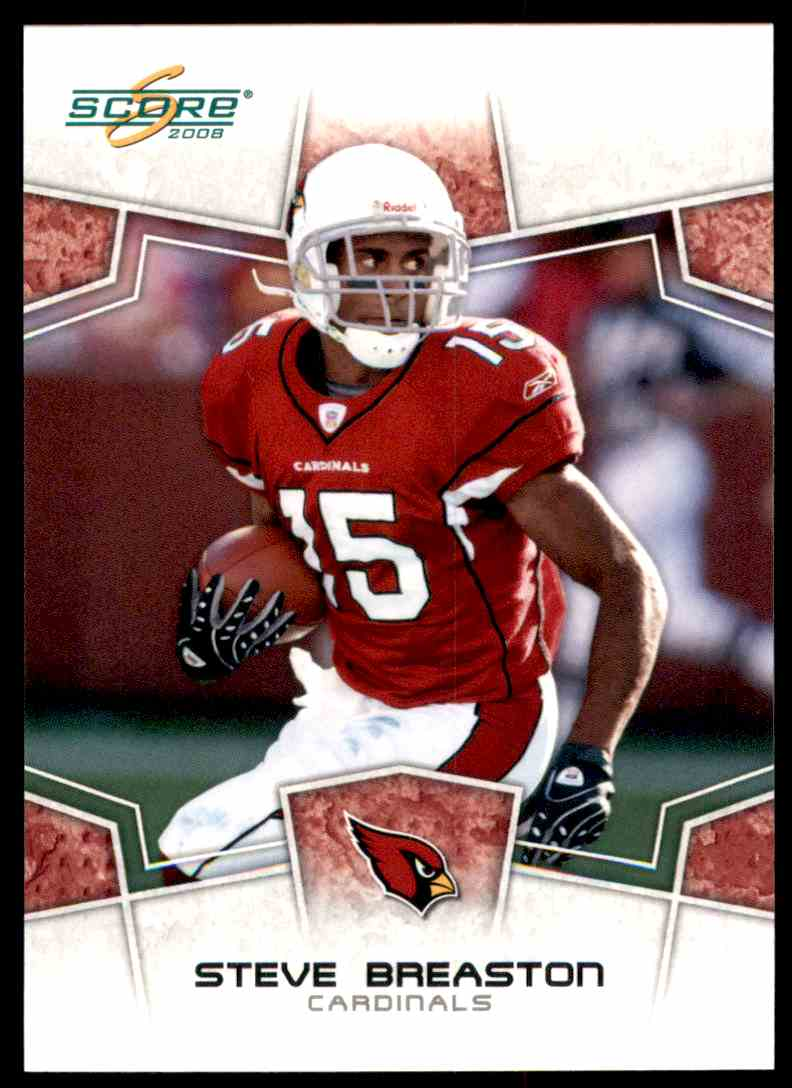 2008 Score Steve Breaston #7 card front image