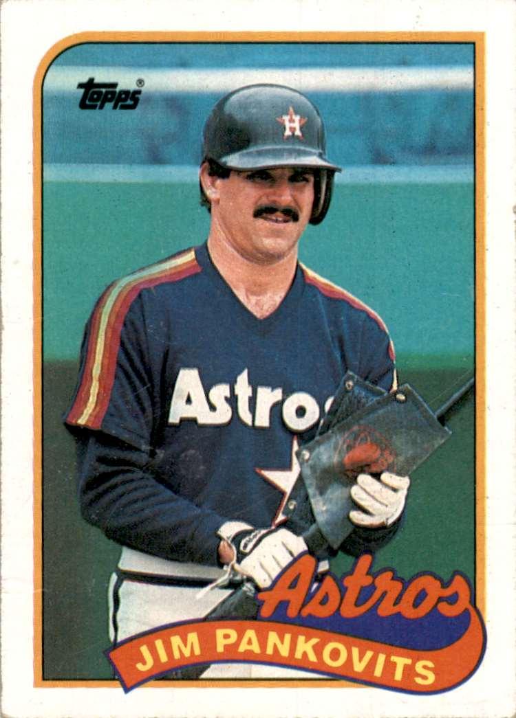 1989 Topps Jim Pankovits #153 card front image