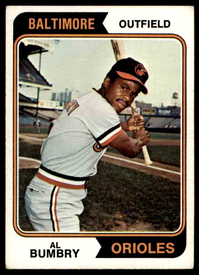1974 Topps Al Bumbry 137 On Kronozio