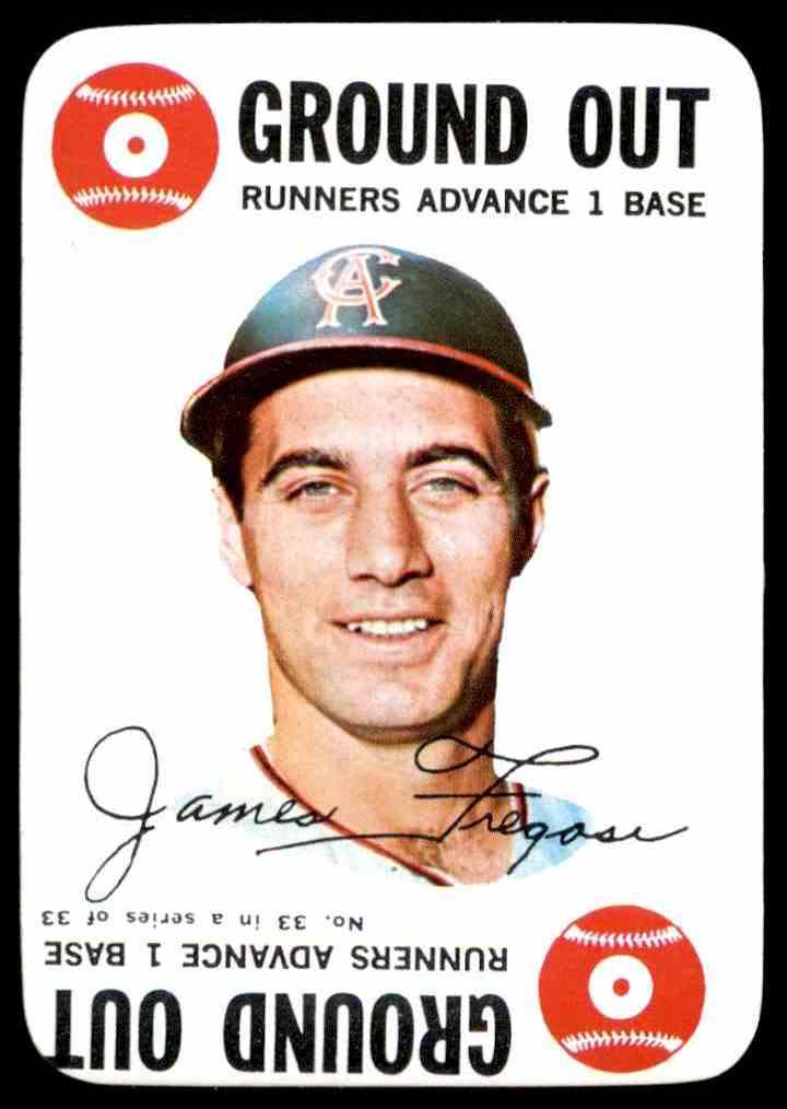 1968 Topps Game Jim Fregosi #33 card front image