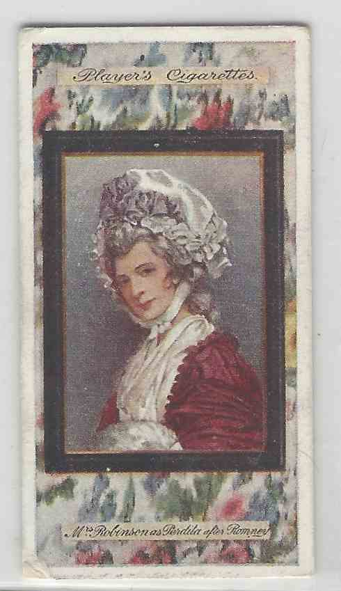 1923 Player's Miniatures Mrs. Robinson #12 card front image