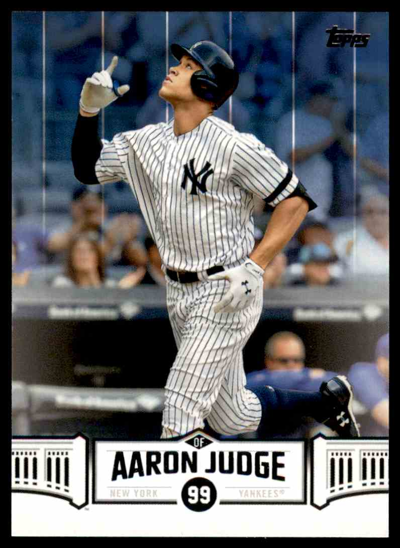 2018 Topps Highlights Aaron Judge #AJ-22 card front image