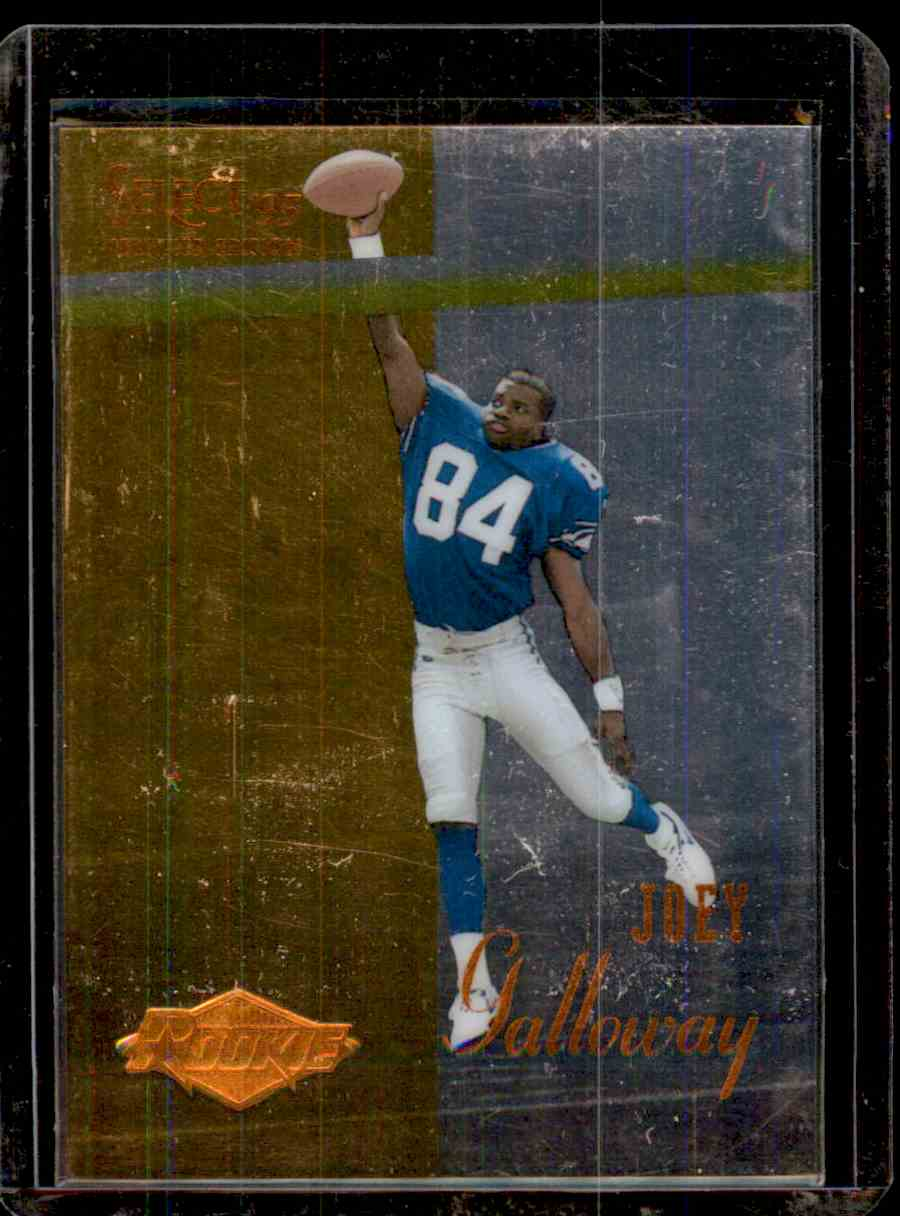 1995 Select Certified Joey Galloway #135 card front image