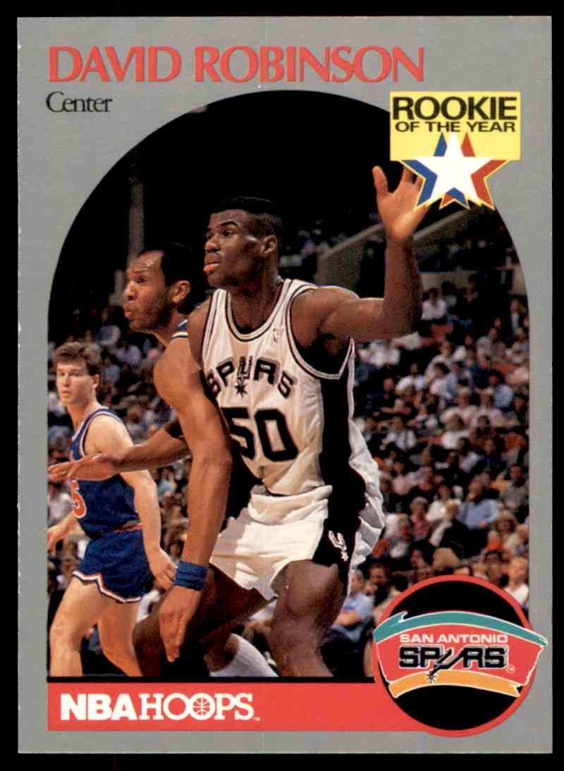 1990-91 NBA Hoops Roy David Robinson #270 card front image