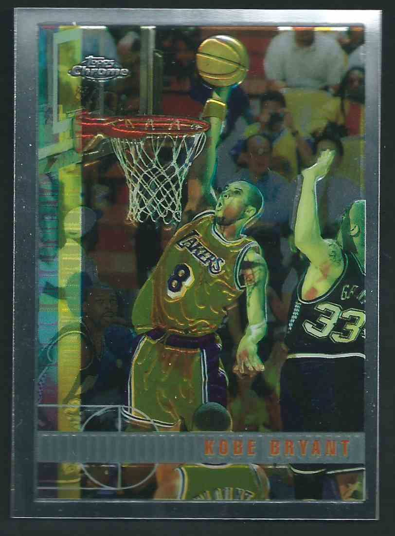 1997 98 Topps Chrome Kobe Bryant 171 On Kronozio