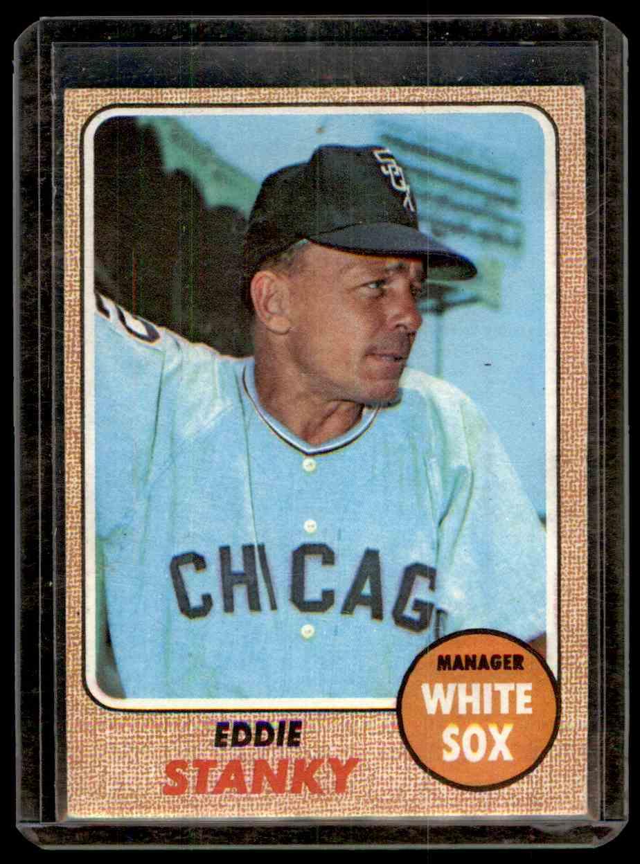 1968 Topps Eddie Stanky 564 On Kronozio