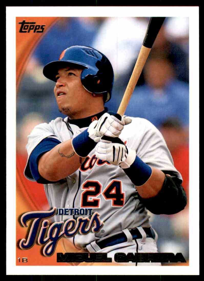 2010 Topps Miguel Cabrera #623 card front image