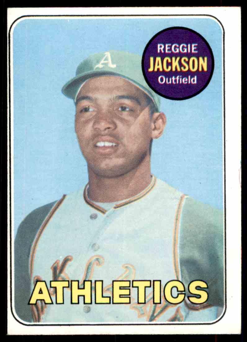 1969 Topps Reggie Jackson #260 card front image