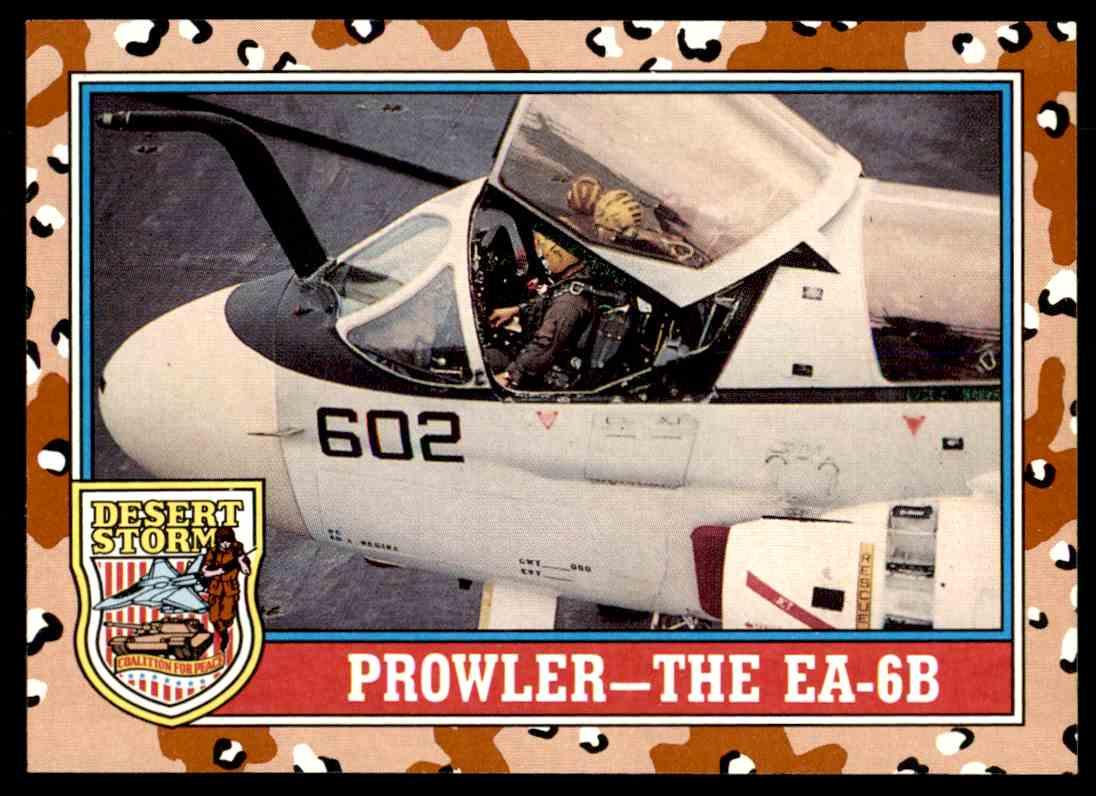 1991 Topps Desert Storm Series 2 Prowler The Ea 6b 137 On Kronozio
