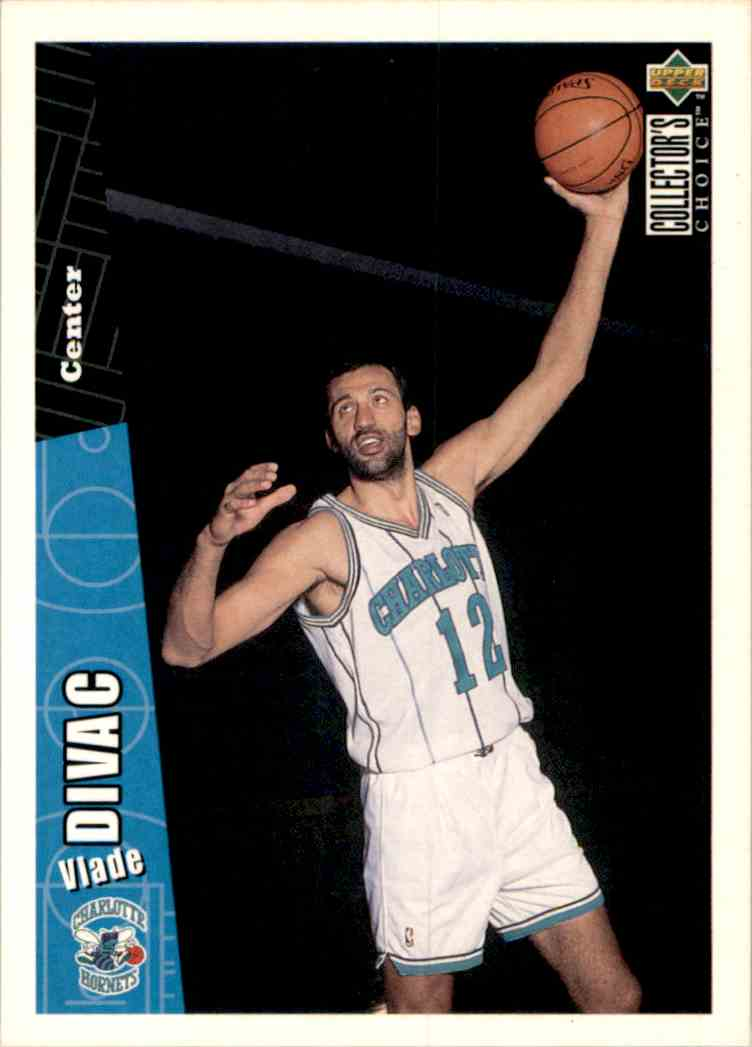 1996-97 Collector's Choice Vlade Divac #214 card front image