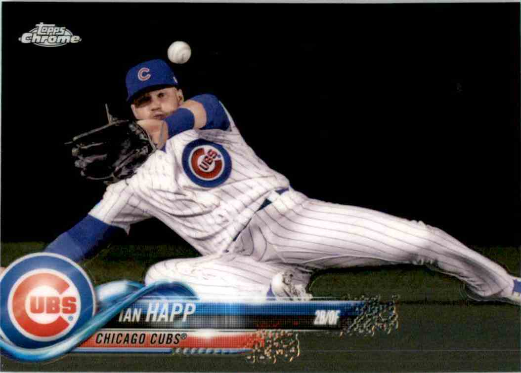 2018 Topps Chrome Ian Happ #51 card front image