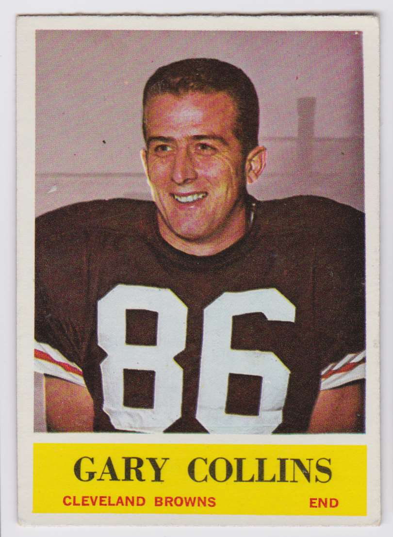 1964 Philadelphia Gary Collins #31 card front image