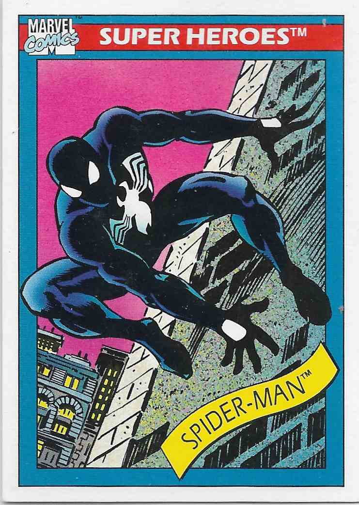 1990 Impel Marvel Spider-Man #2 card front image