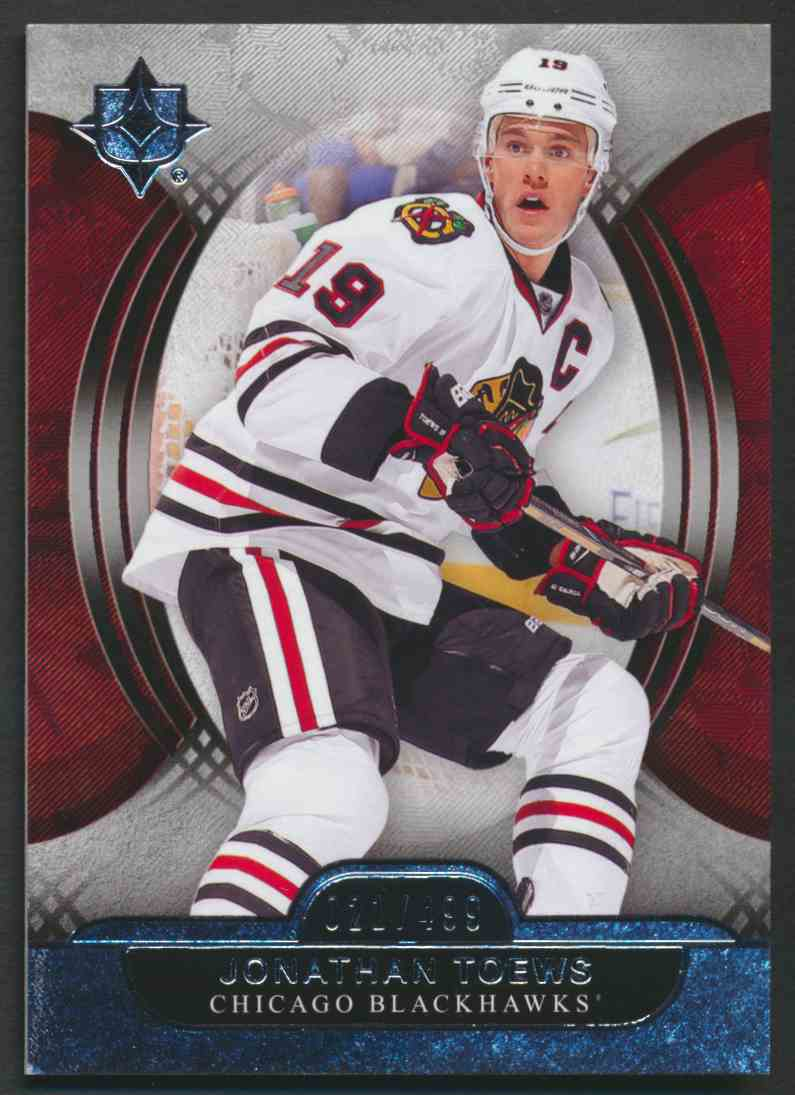 2013-14 Ultimate Collection Jonathan Toews #4 card front image